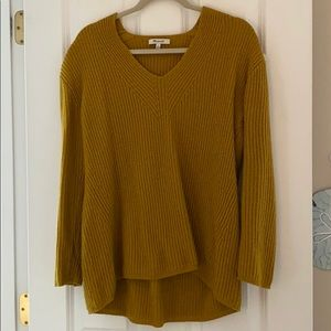 Mustard Yellow Madewell Sweater Size Small